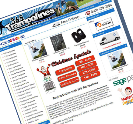 365 Trampolines Improving Natural Listings