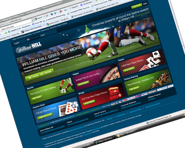 William Hill Sports Betting Online